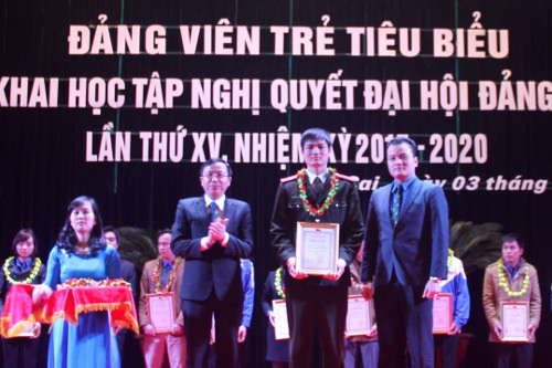 Overview of the Ceremony in Lao Cai province