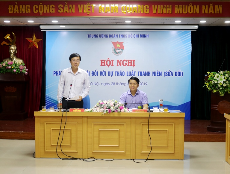 """The National Committee on Youth of Vietnam always seeks for best policies for young people,"" Mr. Le Quoc Phong emphasized"