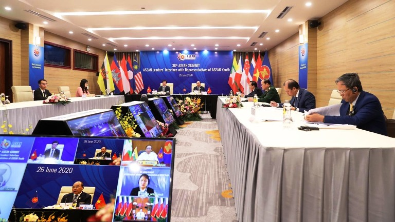 Virtual dialogues between ASEAN leaders and ASEAN youth representatives