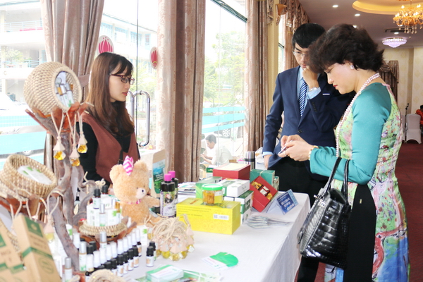 Many start-up products of mountainous and ethnic youth attract the attention of participants