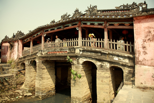 Pagoda Bridge in Hoi An, Quang Nam province