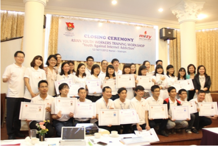 Youth Workshop held by CYDECO and MIZY in Hanoi in 2013