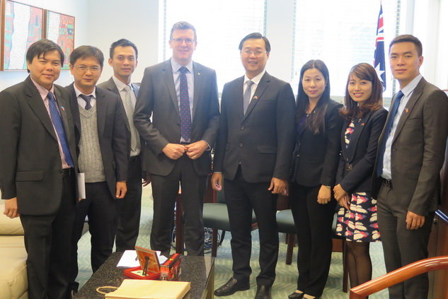 Delegation met with the Australian government representatives